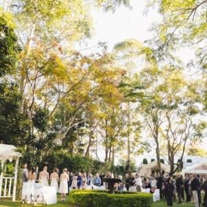 wedding ceremony house of laurels maleny sunshine coast