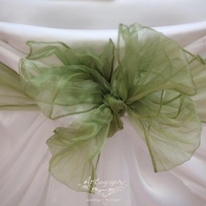green bows for chair decorations decor and styling house of laurels maleny sunshine coast