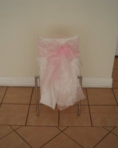 pink bows for chair decorations decor and styling house of laurels maleny sunshine coast