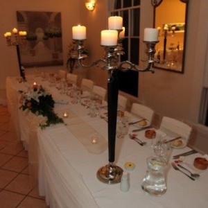candlelabra decor and styling wedding ceremony house of laurels wedding venue maleny sunshine coast